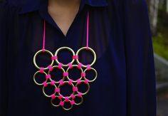 easy peasy diy necklace