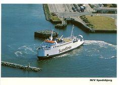 Denmark Postcard Ferry Scandlines Spodsbjerg | eBay