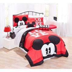 Disney Mickey Mouse Classic Luv Bedding Sheet Set