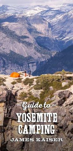 Complete guide to Yosemite camping, including the best campgrounds in Yosemite National Park. Where to camp, what to bring, how to avoid the crowds!