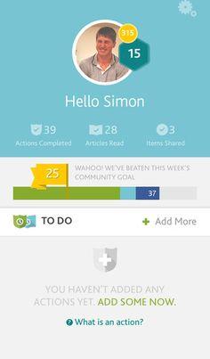 Rhythms by Tearfund By Tearfund app ios iphone smartphone Profil
