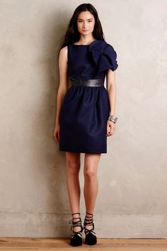 NWT ANTHROPOLOGIE by RAOUL MARIGNY CINCHED SHIFT DRESS 12 #Raoul #Shift #Festive