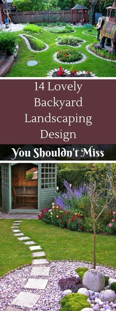 14 Lovely Backyard Landscaping Design You Shouldn't Miss