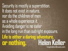 """Helen Keller Quotes Entrancing This Helen Keller Quote Is The Perfect Way To """"See"""" Hope In Even The"""