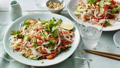I adore this light and fresh crayfish salad. Buy the freshest, finest ingredients you can – this dish is all about fresh flavours.