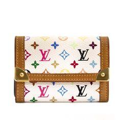 500df0ca25474d Labellov Louis Vuitton Murakami Multicolore Monogram Wallet ○ Buy and Sell  Authentic Luxury