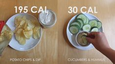Cut the junk and save on calories with these smart snack swaps!
