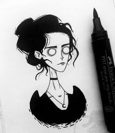 Messy and quick Vanessa Ives sketchbook doodle. I love drawing her, and it's really funny to see how's she changing each time. Demon Drawings, Dark Art Drawings, Love Drawings, Art Drawings Sketches, Character Art, Character Design, Famous Tattoo Artists, Graffiti Wall Art, Penny Dreadful