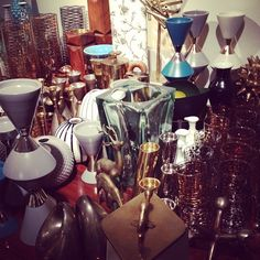 Props galore. Working on the showroom.#hpmkt