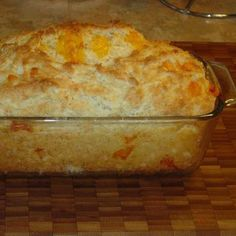 Red Lobster's Cheese Biscuit recipe done in a loaf pan Recipe - Key Ingredient