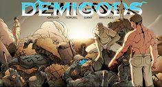 The Demigods Wraparound Cover.