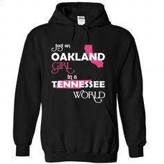 Oakland-Tennessee - teeshirt dress #button up shirt #swag hoodie