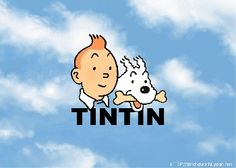 Tintin and Snowy // all blue skies ahead