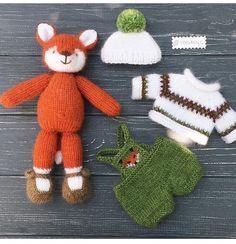 Mesmerizing Crochet an Amigurumi Rabbit Ideas. Lovely Crochet an Amigurumi Rabbit Ideas. Baby Knitting Patterns, Knitting For Kids, Knitting Projects, Crochet Projects, Crochet Patterns, Knitted Bunnies, Knitted Animals, Knitted Dolls, Crochet Crafts