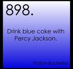 Ok yea i really wanna drink BLUE coke!!!! It's coke that's BLUE!!!!