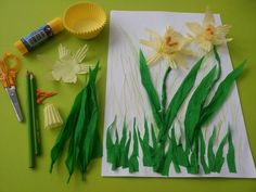 . Art For Kids, Crafts For Kids, Twas The Night, Kindergarten, Flower Crafts, Art Lessons, Preschool, Techno, Spring