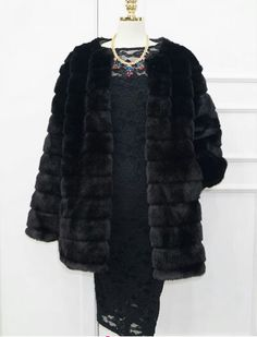 faux fur coat for curvy women made in Korea You can buy here  stores.ebay.com/glamtogal