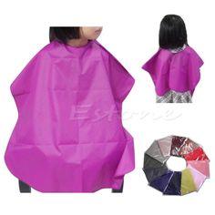 U119 niños libres del envío del salón impermeable corte de pelo de peluquería barberos cabo vestido de tela nueva caliente