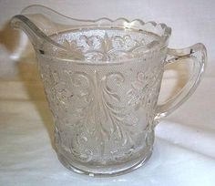 Small Vintage Indiana Glass Tiara Pitcher Sandwich by aestexas, $15.00