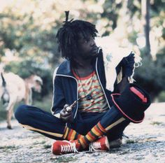 *Peter Tosh* Westmoreland, Jamaica, 1975. More fantastic pictures and videos of *The Wailers* on: https://de.pinterest.com/ReggaeHeart/ ©Lee Jaffe/ gettyimages.com