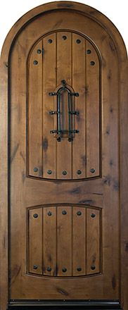 Arch Series Solid Wood Entry Door