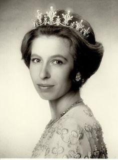 Beautiful portrait of Princess Anne
