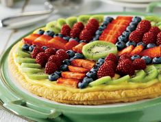 A flaky, golden Pepperidge Farm® Puff Pastry crust is filled with creamy vanilla pudding and topped with assorted fresh fruit.