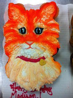 cat cupcake cake - let them eat cake