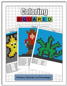 Coloring Squared: Fractions, Decimals, and Percentages