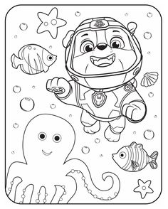 die 50 besten bilder von paw patrol   coloring pages, coloring books und coloring pages for kids