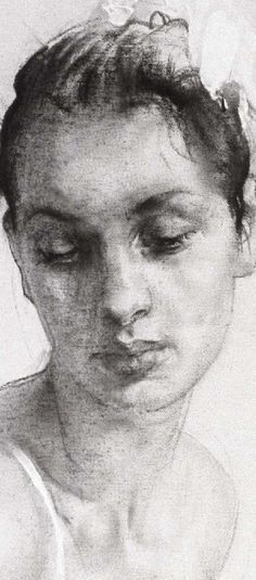 Drawings by Nikolay Blokhin #ClippedOnIssuu #drawing #portrait