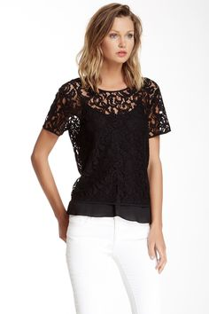 Lace Blouse with Cami