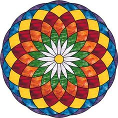 Mandala Coloring Pages Stained Glass Patterns, Mosaic Patterns, Mandala Drawing, Mandala Art, Mandala Design, Folk Art Flowers, Barn Quilt Designs, Simple Mandala, Mandala Coloring Pages