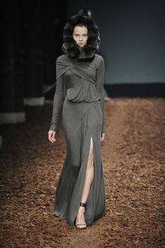 Givenchy ~Grey #grey #grey dress #fashion #women's fashion #grey couture dress