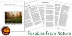 'Parables from Nature' free e-book!