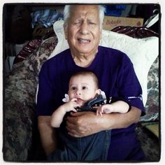 My grandfather and nephew :)