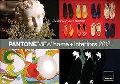 New! Pantone Home – Interiors Color Forecast 2013