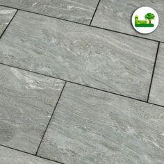 #Pannonia #green #gartenleber #garden Tile Floor, Flooring, Garden, Terrace, Porcelain Tiles, Stones, Lawn And Garden, Tile Flooring, Wood Flooring