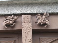 France. Woodcarving