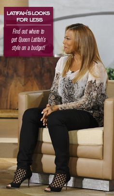 Replicate Queen Latifah's style on a budget!
