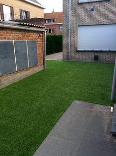 Hoe creëer je een mooie achtertuin? Met kunstgras van ForGrass.  www.forgrass-kunstgras.be