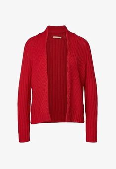 Marc O'Polo Strickjacke - red - Zalando.at Pullover Outfit, Pullover Pullover, Sweater Weather, Marc O Polo, Long Cardigan, School Outfits, Men Sweater, Beige, Sweaters