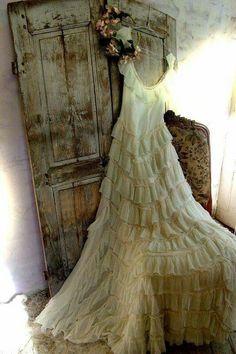 Beautiful ruffled dress
