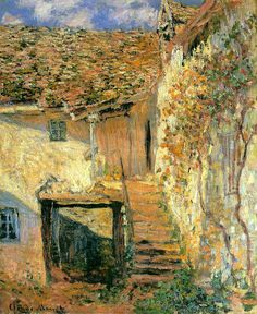 "Claude MONET ""L'Escalier"""