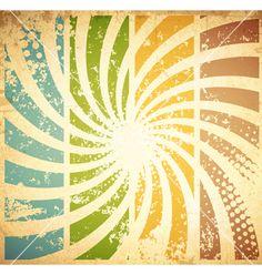 Vintage grunge background vector - by SRNR on VectorStock®