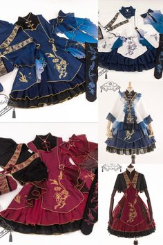 Cute Fashion, Asian Fashion, 1800s Dresses, Undertale Drawings, Lolita Style, Art Reference Poses, Jumper Dress, Grunge Outfits, Indie Brands