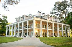 Antebellum Weddings at Oak Island near Birmingham, Alabama