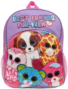 Kids TY Beanie Boos Backpack Perfect for back to school!