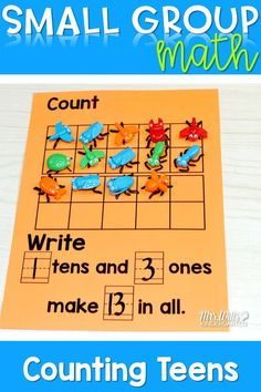 Kindergarten Small Group Guided Math is packed with engaging activities to help your little mathematicians gain a deeper understanding of mathematics. Counting activities are included in these modules. Great for intervention groups.