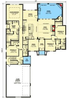 Southern, photo gallery, european house plans & home designs planer, co Country House Design, Country House Plans, French Country House, French Country Decorating, Home Design, Country Homes, Interior Design, Country Style, House Plans One Story